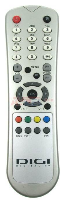 DIGI-TV náhradní diaľkový ovládač HYUNDAI