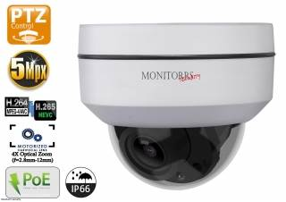 Monitorrs security Mini Dome PTZ 5MPix Kamera (6008)