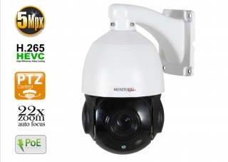 Monitorrs Security PTZ Kamery 5 MPix 22 x zoom +auto focus (6007)