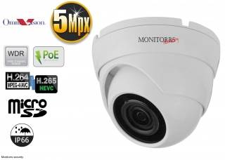 Monitorrs Security IP kamera 5 Mpix Dome (6292)