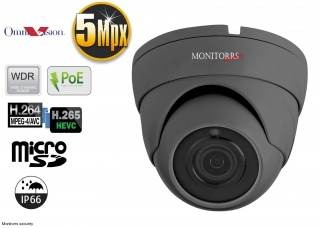 Monitorrs Security IP kamera 5 Mpix Dome (6173)