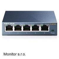 TP-LINK TL-SG105 . 5-port 10/100/1000M Gigabit Switch, 5x 10/100/1000M RJ45 po