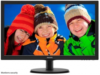 "Philips 223V5LSB2/10, 21,5"" LCD W-LED FULL-HD 16:9, 1920x1080, 10mil:1, 200cd,"