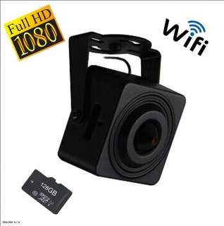 Monitorrs Security Mini IP Wifi kamera 2,4 Mpix