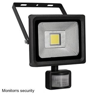Monitorrs Security LED REFLEKTOR 10W+SENSOR (3100)